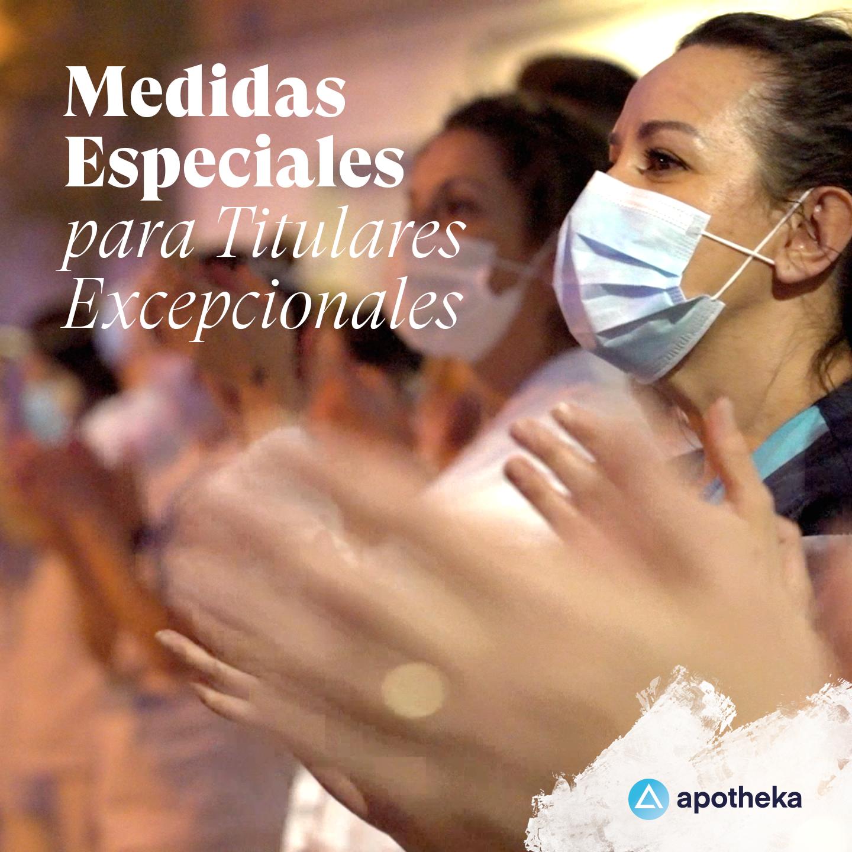Medidas especiales - Apotheka